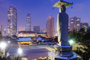 достопримечательности в Южной Корее