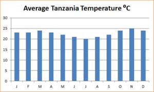 погода по месяцам в Танзании